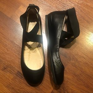 Jessica Simpson Ballet Flat. 5.5 Black. Like new!